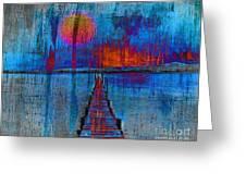 Walk On Water 03 Greeting Card