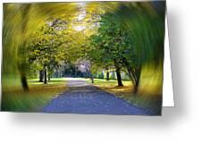 Walk The Way Greeting Card
