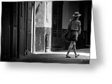 Walk This Way .. Greeting Card