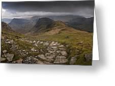 Walk To Hay Stacks Lake District Greeting Card