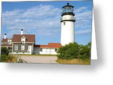 Walk To The Lighthouse Greeting Card