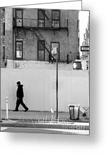 Walk Walk. New York. Greeting Card