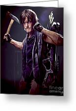 Walking Dead - Daryl Dixon Greeting Card