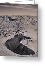 Walking On The Moon Greeting Card by Laurie Search