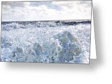 Walking On Water I Greeting Card by Kevyn Bashore