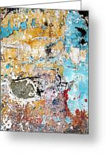 Wall Abstract 124 Greeting Card