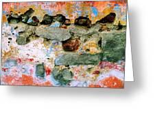 Wall Abstract 15 Greeting Card