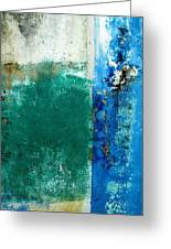 Wall Abstract 159 Greeting Card
