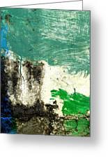 Wall Abstract 166 Greeting Card