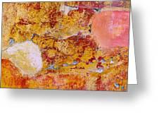 Wall Abstract 3 Greeting Card