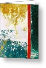 Wall Abstract 71 Greeting Card