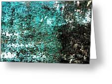 Wall Abstract 9 Greeting Card