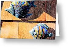 Wall Fish Greeting Card