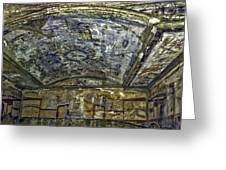Ceiling And Wall Paintings Greeting Card
