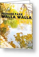 Walla Walla Greeting Card