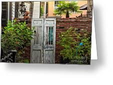 Walled Garden Greeting Card