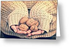 Wallnuts Greeting Card