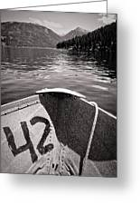 Wallowa Lake Greeting Card