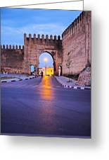 Walls Of Fes In Morocco Greeting Card