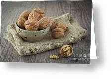 Walnuts Greeting Card by Sabino Parente