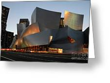Walt Disney Concert Hall 21 Greeting Card by Bob Christopher