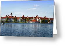 Walt Disney World Resort Greeting Card