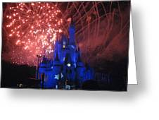 Walt Disney World Resort - Magic Kingdom - 121271 Greeting Card by DC Photographer
