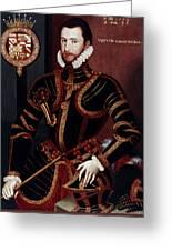 Walter Devereux (1541-1576) Greeting Card