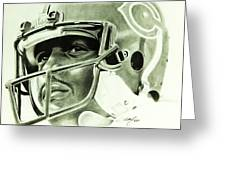Walter Payton Greeting Card by Don Medina