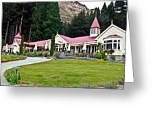 Walter Peak Farm New Zealand Greeting Card