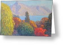 Walter Peak Queenstown Nz Greeting Card by Terry Perham