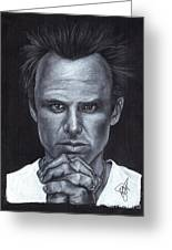 Walton Goggins Greeting Card