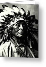 Wanduta Lakota Sioux Greeting Card