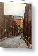 Wapping High Street East London Greeting Card