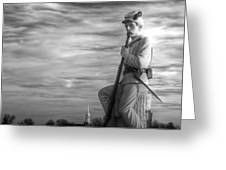 War Fighters - 149th Pa Infantry 1st Regiment Bucktail Brigade-a1 Near Mc Pherson Barn Gettysburg Greeting Card