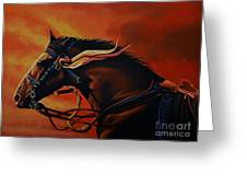 War Horse Joey  Greeting Card by Paul Meijering