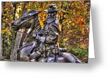 War Horses - Lieutenant General James Longstreet Commanding First Corps Gettysburg Greeting Card