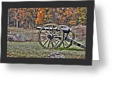 War Thunder - 4th New York Independent Battery Crawford Avenue Gettysburg Greeting Card