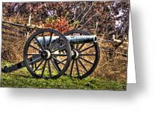 War Thunder - The Morris Artillery Page's Battery Oak Hill Gettysburg Greeting Card