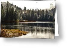 Ward Lake Shack Greeting Card