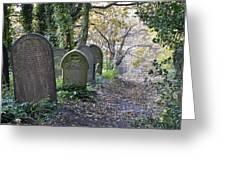 Wardsend Cemetery Greeting Card