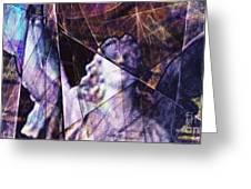 Warehouse Angel / Through The Broken Glass Greeting Card