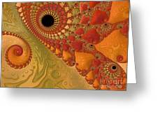 Warm And Earthy Greeting Card