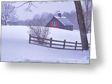 Warm In Winter Greeting Card