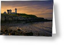 Warm Nubble Dawn Greeting Card