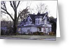 Warm Springs Avenue Home Series 4 Greeting Card