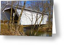 Warnke Covered Bridge  Greeting Card