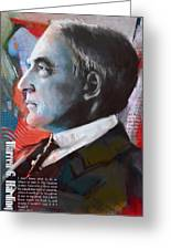 Warren G. Harding Greeting Card