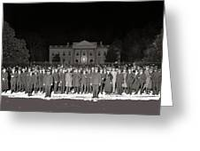 Warren Harding Elected President Election Night National Photo Co. White House Washington D.c.1920 Greeting Card