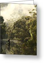 Warren River - Western Australia 2am-113012 Greeting Card